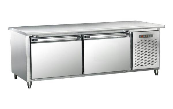 双门工作台冷藏柜