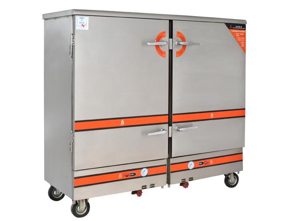 电热24盆蒸饭柜