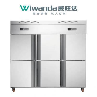 威旺达厨房设备六门冰柜 (2)