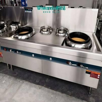 威旺达厨房设备双炒双温灶 (2)