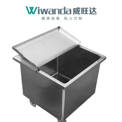 威旺达厨房设备不锈钢米面车