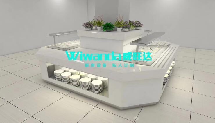 威旺达厨房设备整体厨房设计图