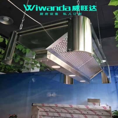 透明玻璃烟罩 (2)