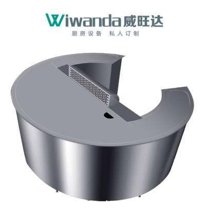 威旺达西餐设备铁板烧设备 (2)