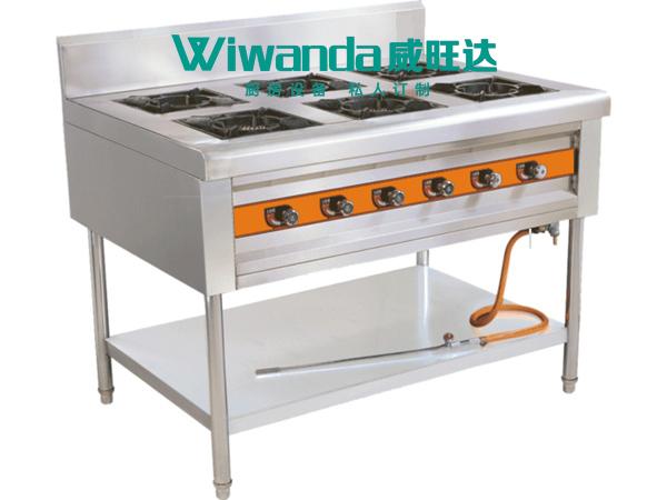 威旺达厨房设备六眼煲仔炉