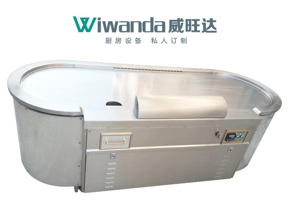 威旺达厨房设备铁板烧设备 (4)
